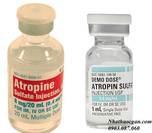 atropin sulfat co thanh phan gi, su dung atropin sulfat nhu the nao