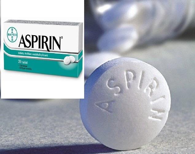 thuoc aspirin acetylsalicylic acid giam dau ha sot - dieu tri ung buu