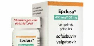 thuoc epclusa chua hoat chat sofosbuvir 400mg velpatasvir 100mg dieu tri viem gan c - nha thuoc gan