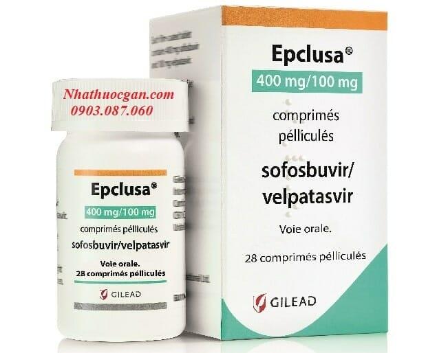 Epclusa điều trị viêm gan c, mua ở đâu?