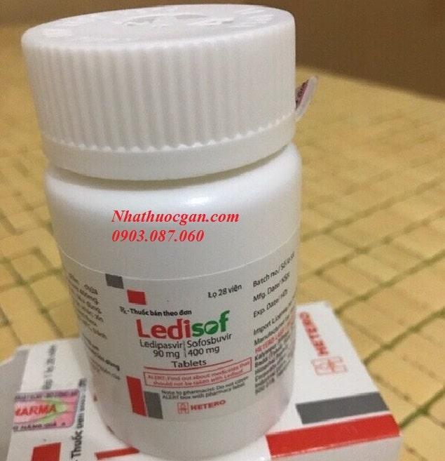 thuoc ledisof hoat chat ledipasvir 90mg và sofosbuvir 400mg- cong dung thuoc ledisof-min