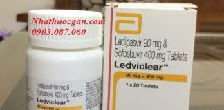 Ledviclear với thành phần chính hai hoạt chất là ledipasvir và sofosbuvir điều tri viêm gan C hiệu quả