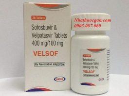 thuoc velsof hoat chat sofosbuvir 400mg va velpatasvir 100mg - mua thuoc velsof o dau-min