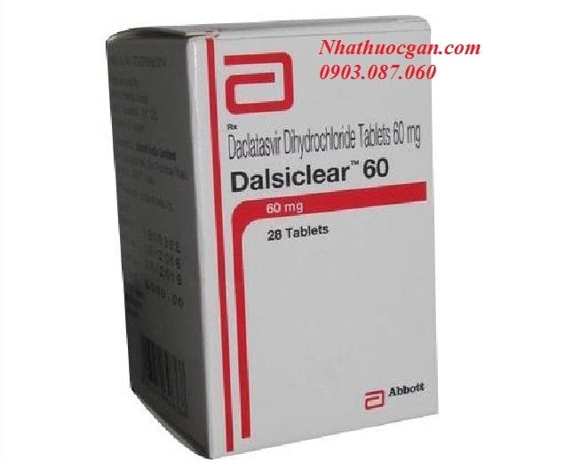 thuoc viroclear dalsiclear hoat chat sofosbuvir 400mg daclatasvir 60mg dieu tri viem gan c - mua thuoc viroclear dalsiclear o dau-min