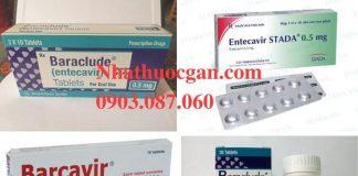 Entecavir 0 5mg cong dung cach dung lieu dung va tac dung phu