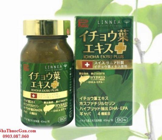 Ichoha Ekisu Plus phòng chống đột quỵ tai biến, tuần hoàn não