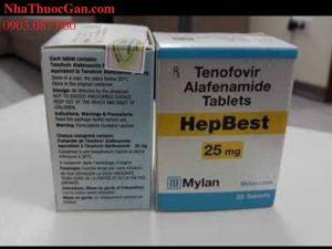 HepBest 25mg điều trị viêm gan b mua thuốc HepBest ở đâu?