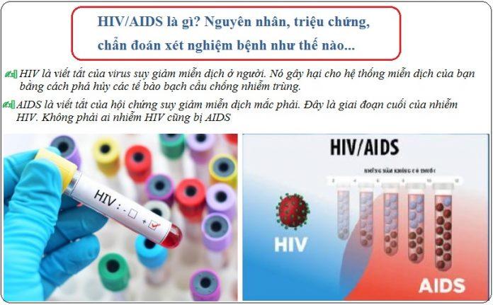 hiv aids la gi nguyen nhan trieu chung chan doan xet nghiem benh