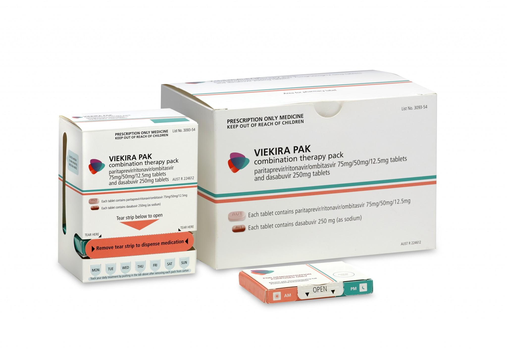 Viekira Pak (Viekira) là thuốc gì: Công dụng, liều dùng & lưu ý (3)
